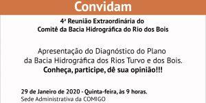 Reunião Extraordinária Rio dos Bois